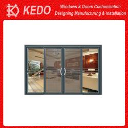 Aangepaste aluminium composiet vouwdeuren waterdicht en luchtdicht
