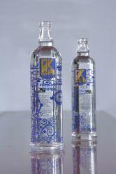 750ml grand verre décoratif bouteilles de vin de la vodka et le vin