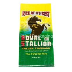 La Chine des emballages en plastique PP sacs tissés pour le millet, du riz, de la nourriture, des engrais, semences, des aliments