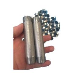 炭素鋼は付属品のTbeの雄ネジのバレルのニップルを造った