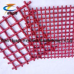 Rouge de l'écran d'exploitation minière à haute résistance Mesh pour carrière Extraction de sable