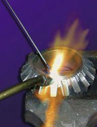 管状の炭化タングステンの電極; 酸素アセチレントーチ; 溶接し、浮上; 堅い段階として炭化タングステン、