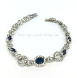 Inlay Rhinestone charmant Bangle Bracelet en alliage de la mode pour les filles