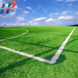 Support en caoutchouc tapis de gazon artificiel en plastique pour le football