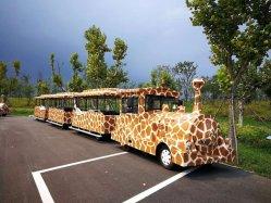 Китай производства 60 мест парк развлечений Trackless туристического поезда