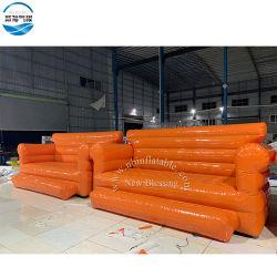 El mejor venta resistente al agua inflables Air Lounge sofa cama Muebles inflables