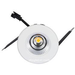A temperatura de cor branca quente (PAC) e Tipo de Item Downlights jóias LED Baixar 7W