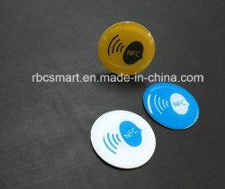 Verkopend het Slimme Identiteitskaart van de Bus van de Spaander van ISO15693 I-code-Sli NFC/RFID Epoxy