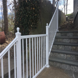 Konkurrenzfähiger Preis-Puder-überzogenes Stahlrohr, welches Panel-Treppenhaus-/Stair das Mit der Eisenbahn befördern einzäunt