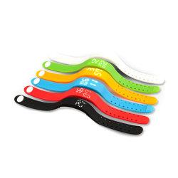 Multi colorido - Funcional executando o Sport levou Smart Senhoras Bracelete relógio de pulso relógio de pulso podômetro