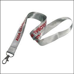 Шеи шелкового трафаретная печать логотипа нейлоновый строп предохранительного пояса спластиковой плечевой лямки ремня безопасности