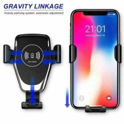 Hz-Selbstauto-Handy-drahtlose Aufladeeinheit für iPhone 8 X Xr Xs Samsung S8 S9