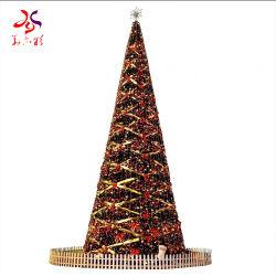 광섬유 장식적인 나무 크리스마스 훈장에 의하여 주문을 받아서 만들어지는 크리스마스 나무
