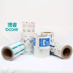 Papier d'impression d'aluminium pour l'emballage du papier humide de la Force des lingettes par machine automatique d'emballage