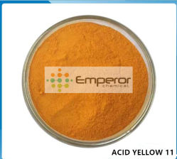 L'acide 11 jaune jaune clair de l'acide G