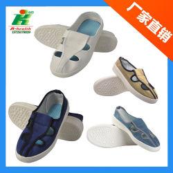 Jeans/bleu/blanc en toile PVC Linkworld Sécurité ESD antistatique pour salle blanche de chaussures de travail