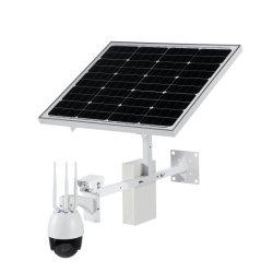 2MP 4G Wireless WiFi Solar exterior CCTV cámara PTZ IP de seguridad con el apoyo de 128 GB Tarjeta Micro SD de la visualización remota