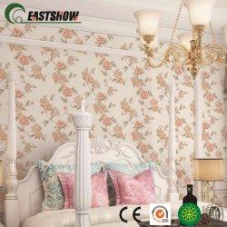Vente chaude Fleur de papier peint en PVC avec élégant motif Dessins pour la maison