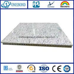 Мраморные ячеистой алюминиевой панели ламинированные плитки