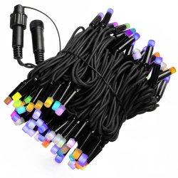 IP65 резиновый кабель LED Гирлянда свет рождественские украшения лампа строк