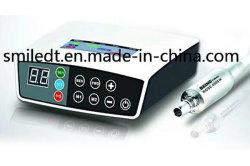 Eléctrico El Micromotor sin escobillas de portátil con luz de fibra óptica