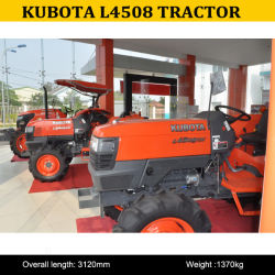 Trattore agricolo poco costoso L4508 di Kubota da vendere, mini trattore agricolo L4508 da vendere, migliore trattore per la piccola azienda agricola