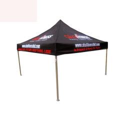 アルミニウム3X3m屋外広告の展示会のカスタム折るおおいのテント