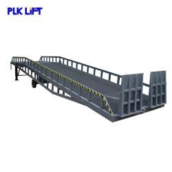 Plk Heavy Duty Mobile de relevage de chariot élévateur à fourche hydraulique les rampes de chargement pour les ventes