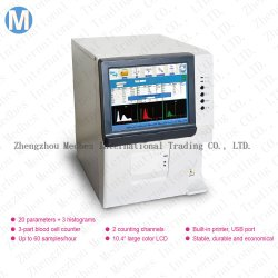 Diagnostic de l'hôpital entièrement AUTO 3-Partie Diff analyseur analyseur de sang de l'hématologie