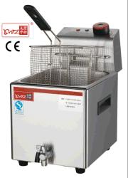 Macchina per friggitrice commerciale da banco/friggitrice per trucioli/friggitrice per pollo KFC Attrezzatura