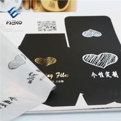Film doux avec motif or et argent pour imprimés numériques