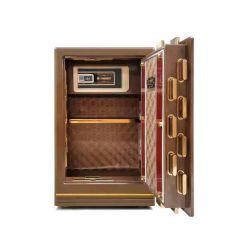 China de huellas digitales de la fábrica de acero sólido de Seguro Hogar cuadros con caja de llaves
