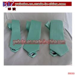 ポリエステルタイのNeckwearの絹のネクタイのタイによって編まれるBowtieのタイの細い結婚式のタイ党タイ(B8059)