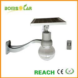 LED de alumínio a luz da Lua Solar 10W 20W a lâmpada de Rua Solar Tudo em Um