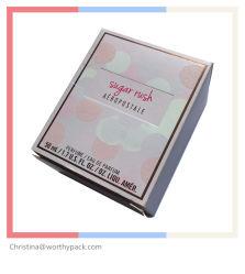 化粧品または香水のPackaigng平らな詰められたペーパーボックス
