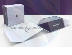 Boîte de papier de pliage de la forme de livre avec fermeture magnétique boîte boîte pliable plié de pliage Pliage boîte Boîte cadeau Emballage