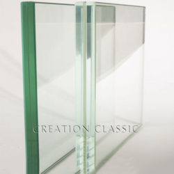 Clear Float / Ultra Clear Laminated / Tempered Glass Voor Badkamer