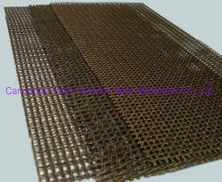 Sílica de alta Fibra de filtro de malha para alumínio/ferro de filtração de fundição