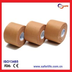 2019 Commerce de gros rayonne multifonction Multicolor oxyde de zinc Tissu respirant Sports poreux Bandage de bande