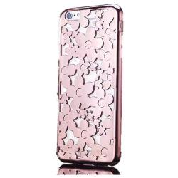 La galvanoplastie fleur TPU Téléphone Mobile pour iPhone