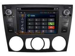Car Video GPS Navigation Andriod System for BMW E90 Car DVD Player with Manual A/C