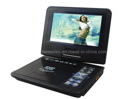 7インチのゲームFM無線TVを持つ携帯用DVDプレイヤー