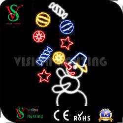 Mayorista de artículos de Navidad Polo LED de luz para la decoración de la calle