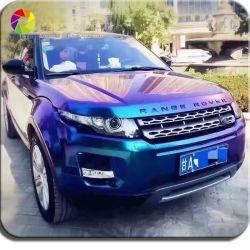 سيارة Tsauop 1.52*18 متر Air Free Bubbles Chameleon Pearl Stickers Car التفاف الجسم