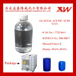 Textile와 Paper를 위한 99.5% 분 Glacial Acetic Acid