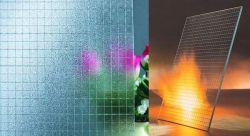 Het duidelijke Netwerk poetste Vuurvast Getelegrafeerd Glas op
