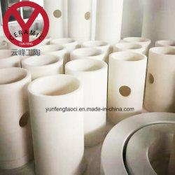 Fabricante de cerâmica oferecem o cotovelo do tubo de curvatura forrados de condutas de aço