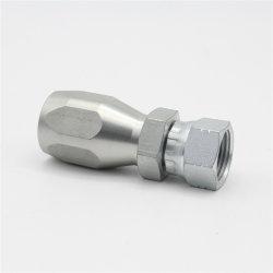 Jic Adaptador de alta presión de la manguera hidráulica SAE 100R5
