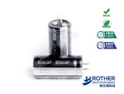 Venta caliente 2,7/2.8V o 3.0V 100f Super condensador con una alta calidad