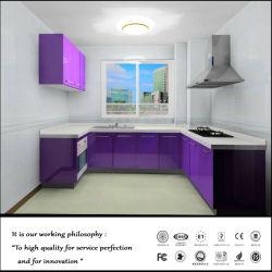 UV-MDF-Küchenmöbel mit Sonderanfertigeeinrichtung (GJ2314)